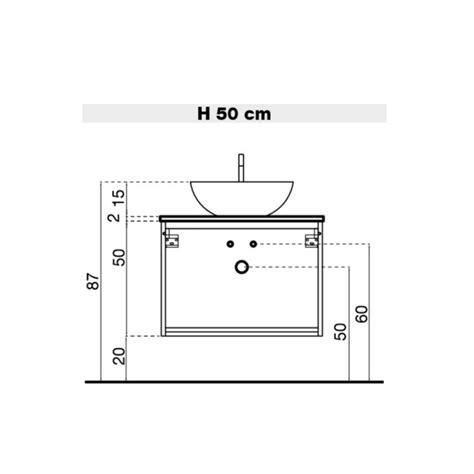 Mobile Bagno Con Lavabo In Appoggio Atlantic Arredaclick - mobile bagno con lavabo in appoggio atlantic arredaclick