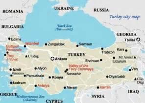 Turkey Map Cities