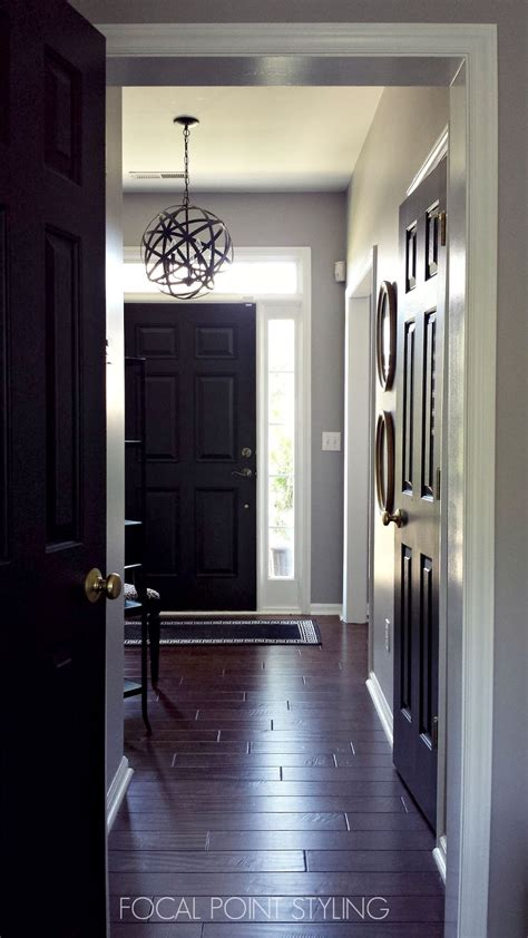 focal point styling   paint interior doors black