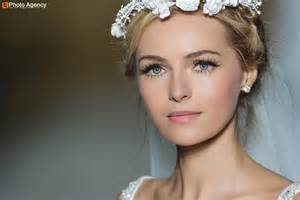 wedding makeup pronovias bridal wedding makeup inspiration 2014 catwalk 6 onewed