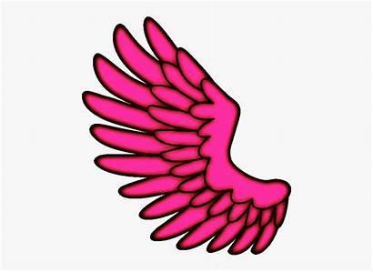 Wings Angel Wing Clipart Hotpink Transparent Angelwings