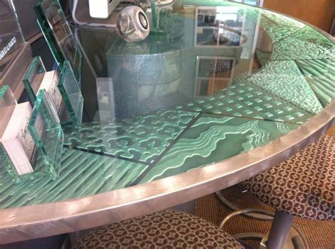 custom glass table tops custom glass table tops sans soucie art glass
