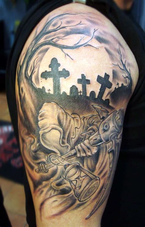 cool grim reaper tattoos designs ideas  meanings