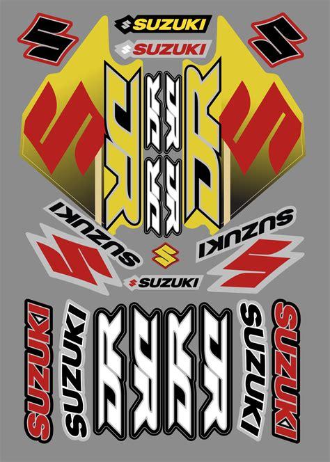 Suzuki Stickers by Suzuki Dr Sticker Kit