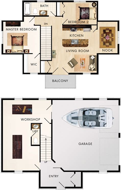 garage floorplans garage with upstairs apartment maybe in back of
