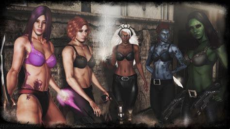 D Girls With Guns Hot Girls Wallpaper