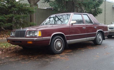 1988 Chrysler LeBaron - Information and photos - MOMENTcar