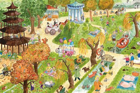 Englischer Garten München Für Kinder by M 252 Nchen Wimmelbild F 252 R Kinder Englische Garten Poster