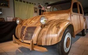 2 Cv En Bois : en images il a construit une 2cv en bois fruitier de touraine le parisien ~ Medecine-chirurgie-esthetiques.com Avis de Voitures