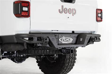 jeep gladiator jt add pro bolt  rear bumper add offroad  leaders  aftermarket
