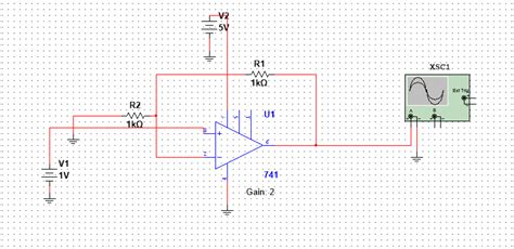 Non Inverting Amplifier Trouble All About Circuits