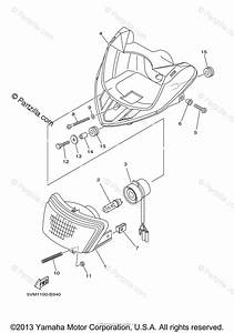 Yamaha Atv 2004 Oem Parts Diagram For Headlight