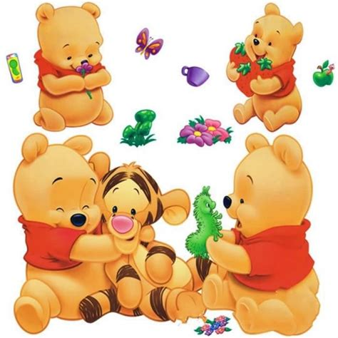 canapé winnie l ourson dessins animés animaux winnie l 39 ourson vinyle stickers