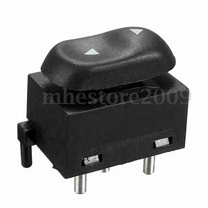 Electric Driver Power Window Switch Master Control For 99