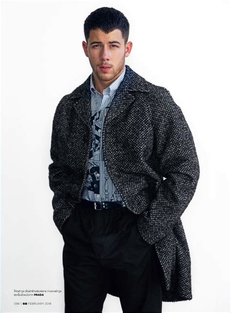 nick jonas gq thailand 2018 cover shoot