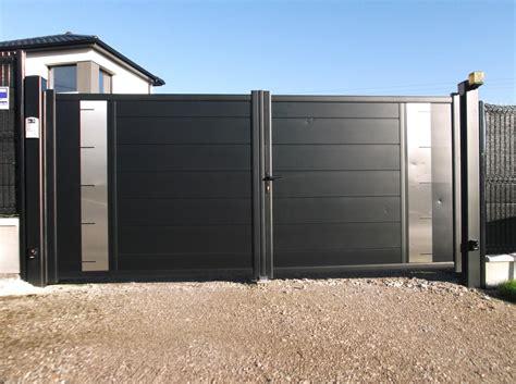 modele de portail en fer forg 233 moderne prix portail coulissant motoris 233 5m sfrcegetel