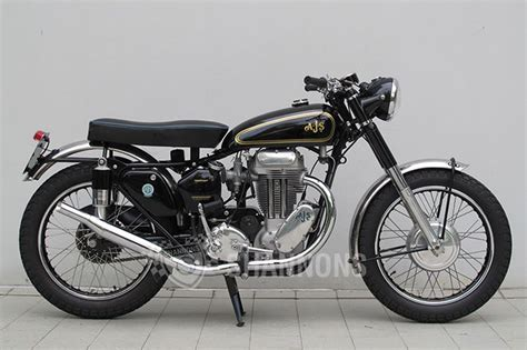 Motorcycle :  Ajs 18s 500cc Motorcycle Auctions