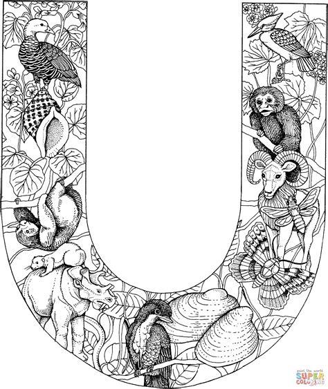 Janiek Kleurplaat Letters by Kleurplaten Letter U Brekelmansadviesgroep