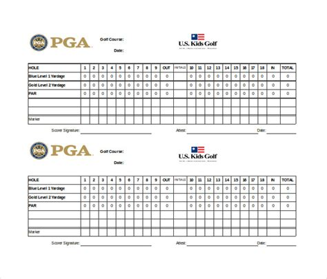 golf scorecard template scoreboard template 10 free psd pdf eps excel documents free premium templates