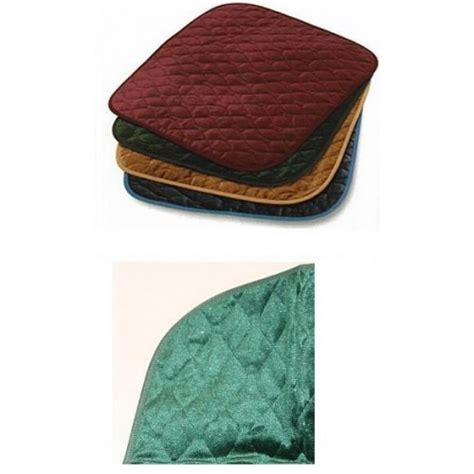 incontinence chair pad washable chair pads velour chair