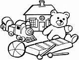 Coloring Toys Pages Bestcoloringpagesforkids sketch template