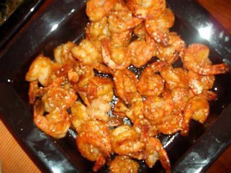 recette de cuisine avec des crevettes crevettes piquantes chinoises