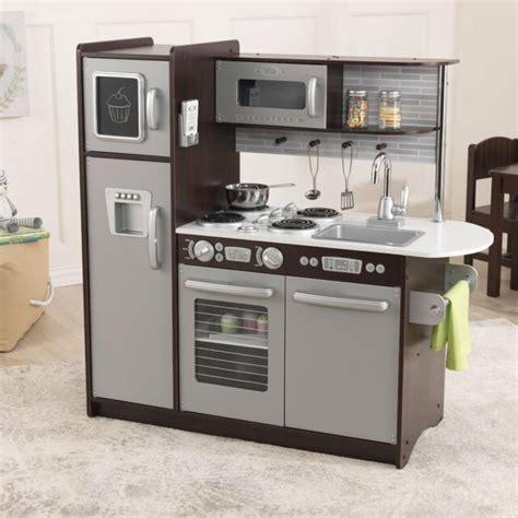 Kidkraft Uptown Espresso Refrigerator Kitchen Kids Toddler