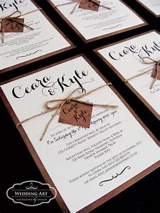 Rustic wedding invitations felt for Country wedding invitations nz