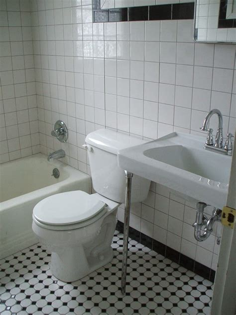 black and white bathroom tile designs black and white tile bathrooms done 6 different ways