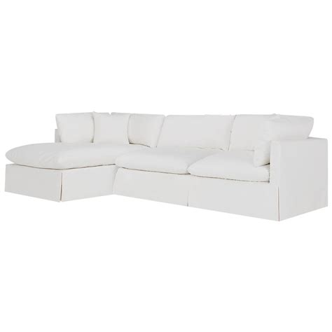 white fabric sectional sofa with chaise city furniture raegan white fabric left chaise sectional