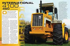 Ih 4100 Article Preview By Heritage Iron Magazine