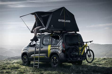 peugeot 4x4 cars peugeot rifter 4x4 adventure van concept hiconsumption