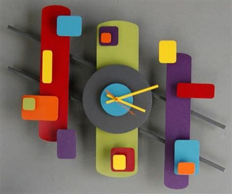 Bastelidee Fuer Kreative Wanduhren by Moderne Wanduhren 27 Kreative Beispiele Archzine Net