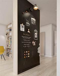 Deco maison 11 facons de mettre en valeur les petits murs for Best brand of paint for kitchen cabinets with papiers peints originaux