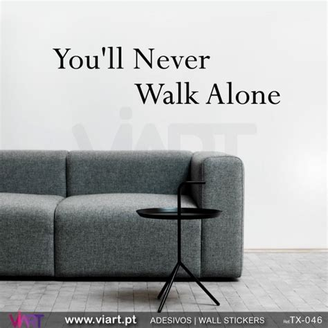 youll  walk  wall stickers vinyl decoration