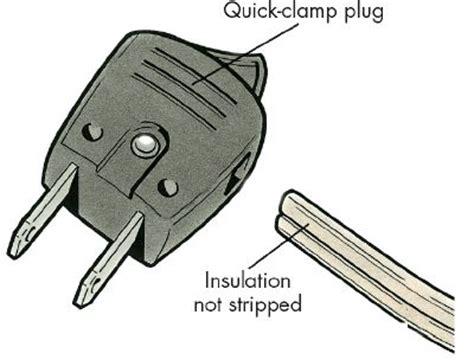 Attach The Plug How Rewire Lamp Steps