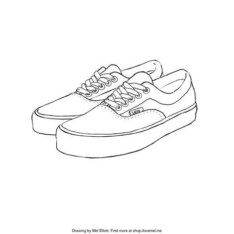 printable coloring page vans  love mel