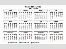Calendario completo con todos los días festivos de