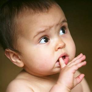 Cute Baby Thinking Photo - Images, Photos, Pictures