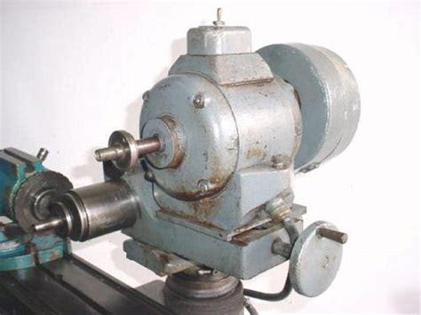 ko lee tool cutter grinder  spin index fixture