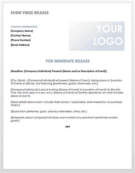 press release templates smartsheet