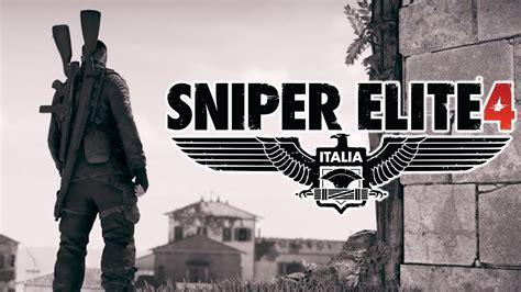 Sniper Elite 4 Multiplayer Online Ita Attraversamento