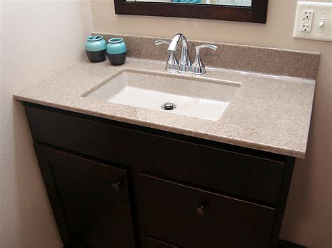 Vanity Countertops  North Star Bathroom Remodeling