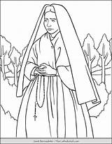 Thecatholickid Patron Lourdes Feast Cupertino Cnt sketch template