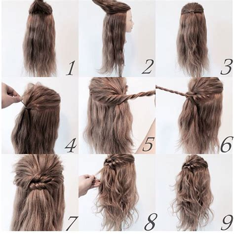Easy Step By Step Hairstyle Tutorials For Medium Length