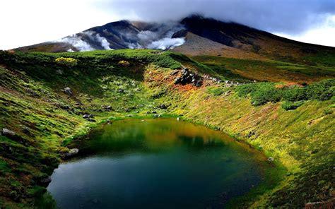 spring lake mountain gassing ovlaci hd wallpaper