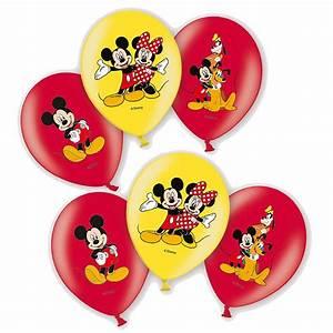 Mickey Mouse Geburtstag : party ballons mickey mouse 6 stk disney micky maus luftballons geburtstag micky maus ~ Orissabook.com Haus und Dekorationen