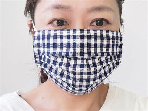 プリーツ マスク 簡単 作り方