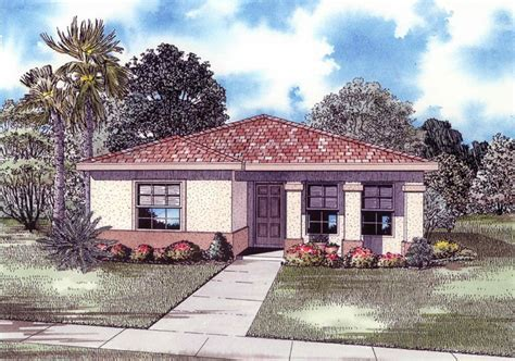 4 Bedroom, 3 Bath Mediterranean House Plan   #ALP 016N