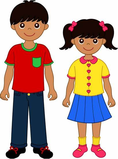 Brother Sister Clip Siblings Sweetclipart